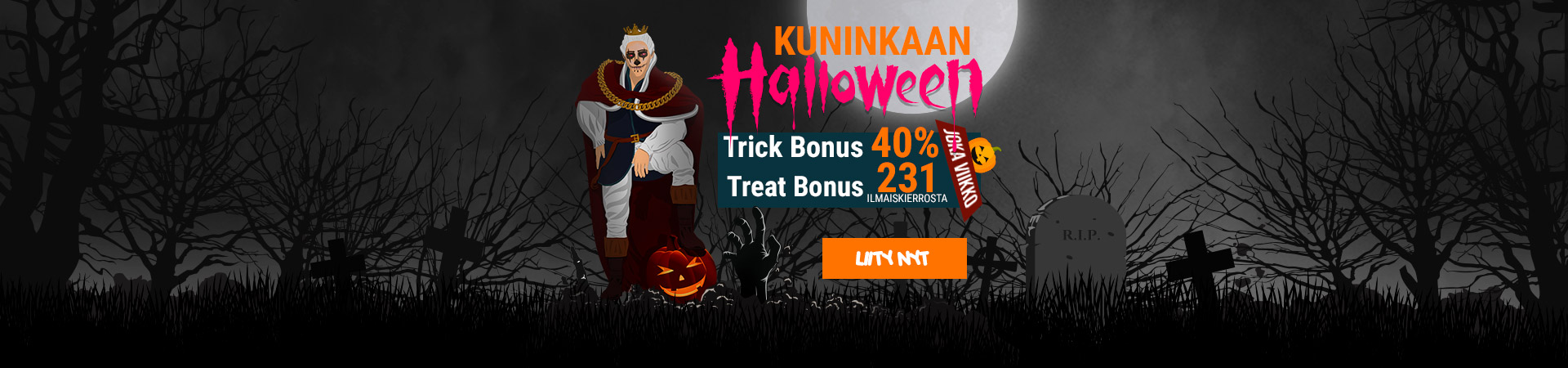 2020 10 King Billy Finnish King's Halloween 1920x450