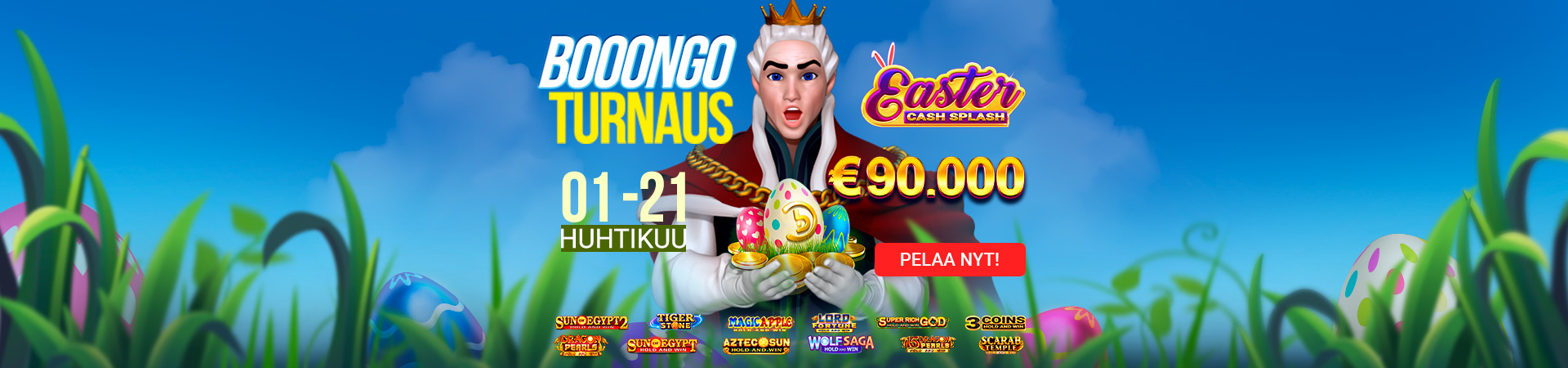 2021 03 King Billy Finnish Booongo Tournament Easter Cash Splash 1920x450